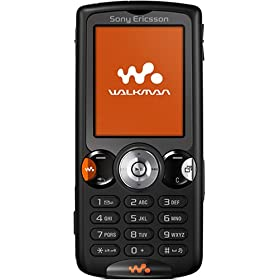 Sony Ericsson W810-Black Phone (Unlocked)
