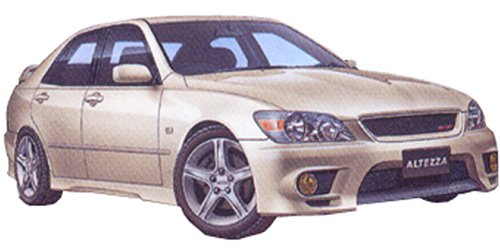 03467 1/24 Toyota Altteza RS200 Sport 1999