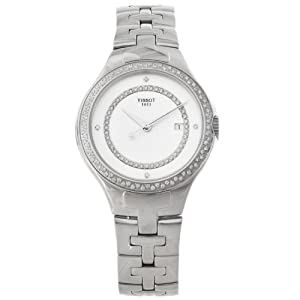 Tissot Womens T-Trend Diamond Accented Analog Watch T0822106111600