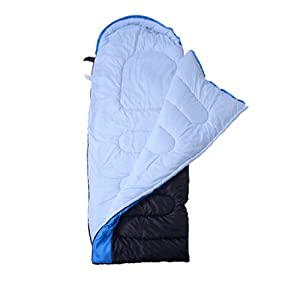 Envelop Single Sleeping Bag Climbing Hiking Travel Hostel Camping 41°F~23°F