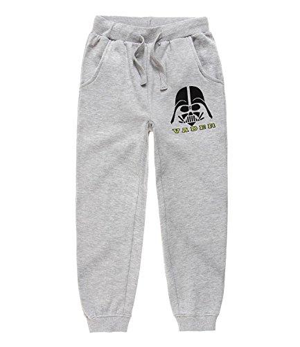 Star Wars-The Clone Wars Darth Vader Jedi Yoda Ragazzi Pantaloni da jogging - grigio - 140
