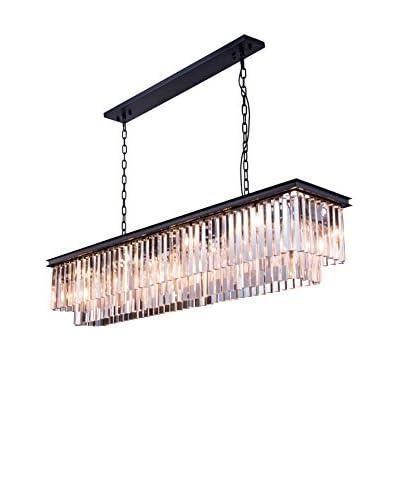 Urban Lights Sydney 8-Light Chandelier, Polished Nickel/Royal Cut Crystal