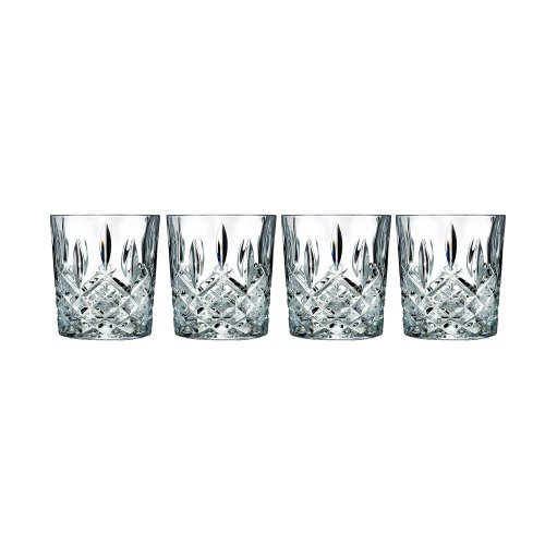 Marquis by Waterford Markham Double Old Fashioned Glasses, Set of 4 (Crystal Bourbon Glasses compare prices)