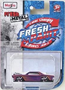 Amazon.com: Maisto Fresh Metal Fresh Paint Color Changing Die-Cast (Pack of 3): Toys & Games