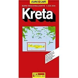 Kreta 1 : 250 000. RV- Karte. (Dec 1, 1996)