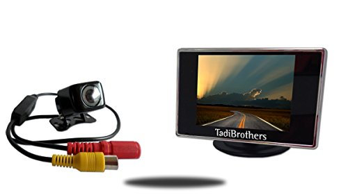Tadibrothers 3.5 Inch Bicycle Rearview Backup Camera System