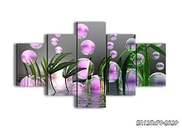 o0oimpression sur toile 125x70 125x70 cm image sur sur toile 5 parties encadr e. Black Bedroom Furniture Sets. Home Design Ideas