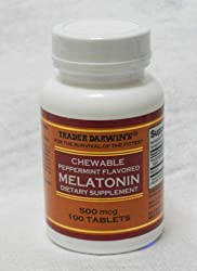 Trader Darwin's Melatonin, 500mcg, 100tablets