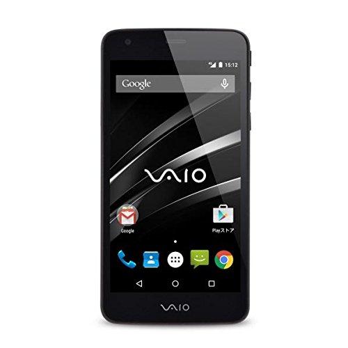 VAIO SIMフリースマートフォン VAIO Phone音声通話付き高速定額SIM申込みパッケージ付属 BM-VA10J-P