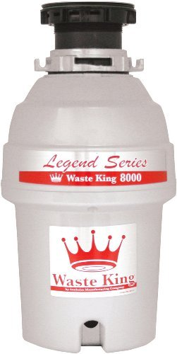 Waste King L-8000 Legend Series 1.0-Horsepower Continuous-Feed Garbage Disposal photo