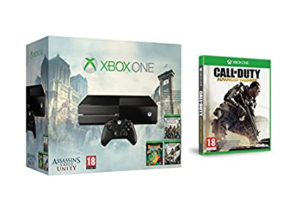 Xbox One - Consola Sin Kinect + Call of Duty AW + Assassin's Creed : Unity + Assassin's Creed IV: Black Flag + Rayman Legends
