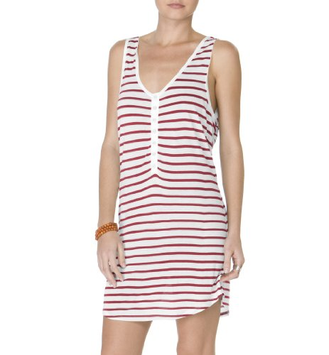 Michael Stars Riviera Stripe Henley Tank Dress