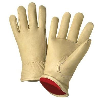 Anchor Brand 101-4011-S Anchor 999Kf-S Grain Leather Fleece Lined Glove