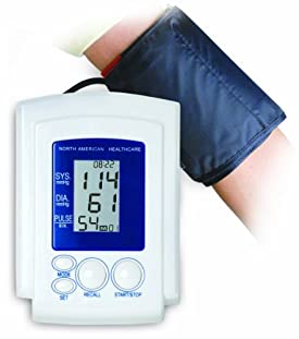North American Healthcare JB5252 Arm Cuff Blood Pressure Monitor