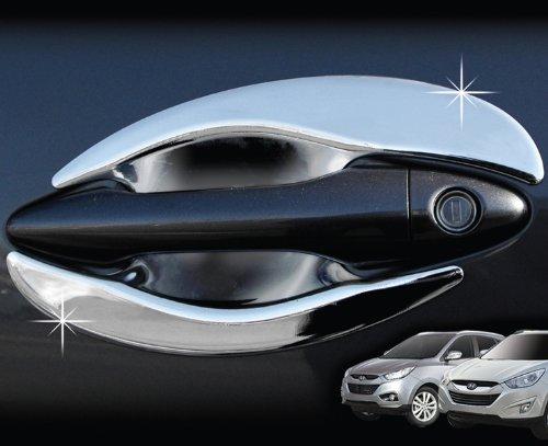 ix35 Zubehör für Hyundai ix35 Chrom Türgriffmulden Mulden Kappen Blenden Tuning