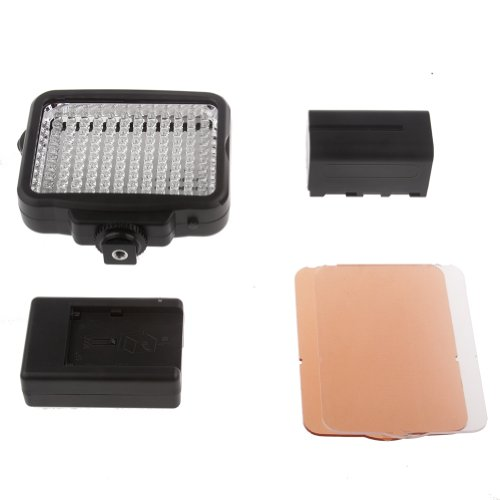 Bestlight® Led-5009 120Pcs Led Dimmable Ultra High Power Panel Digital Camera / Camcorder Video Light, Led Light With F960 Battery And Du01 Battery Charger, Fits Canon, Nikon, Pentax, Panasonic, Sony, Samsung, Olympus And Other Digital Slr Cameras