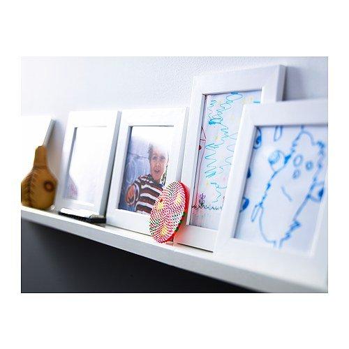 ikea nyttja frame 4x6 white set of 2 frames home garden decor picture. Black Bedroom Furniture Sets. Home Design Ideas