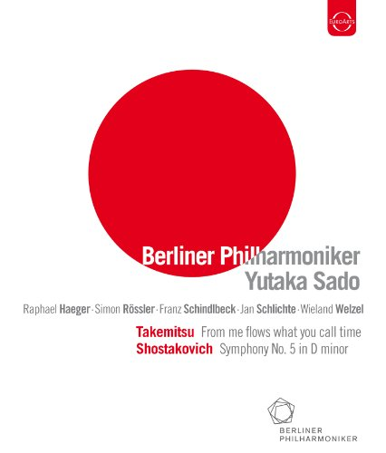 Berliner Philharmoniker/ Yutaka Sado: From Me Flows What You Call Time (EUROARTS 2058744) [Blu-ray] [2011]