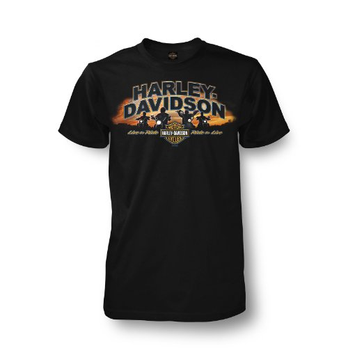 Harley-Davidson Kandahar Posse T-Shirt Mens - 2XL/Black