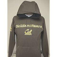 New! Gray NCAA University of California Berkeley Golden Bears Pullover Hoodie Medium... by NCAA