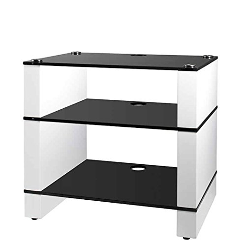 hifi rack weiss storeamore. Black Bedroom Furniture Sets. Home Design Ideas