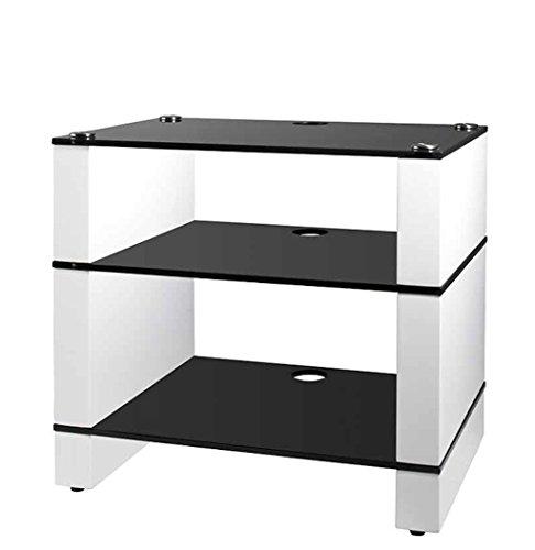 hifi rack weiss storeamore. Black Bedroom Furniture Sets. Home Design Ideas