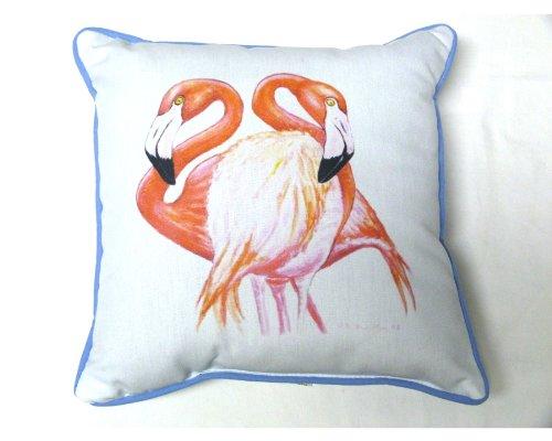 Two Flamingos Decorator Pillow - 12