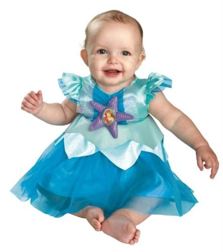 Costumes For All Occasions DG44972W Ariel Infant 12-18 Months