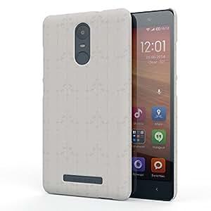 Koveru Designer Printed Protective Back Shell Case Cover for Xiaomi Note 3 - Elegance