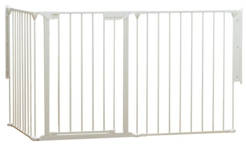 BabyDan Flex Fit 3-Piece Configure Gate in White