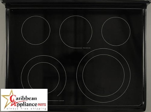 Frigidaire 316531953 Glass Cooktop Range/Stove/Oven back-144740