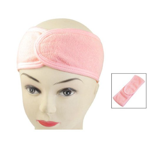 Spa Bath Shower Make Up Wash Face Cosmetic Headband Hair Band Pink by TOOGOO(R) (Shower Head 45cm compare prices)
