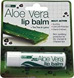 Aloe Dent Aloe Vera Lip Balm + Tea Tree & Lysine 4G