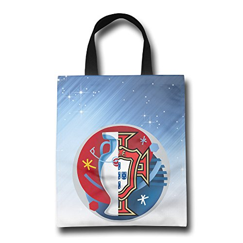 Euro 2016 Champ Portugal Reusable Shopping Bag Reinforced Durable Handles