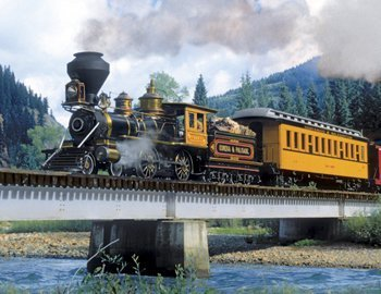 Durango Express - 500pc Jigsaw Puzzle by Springbok - 1