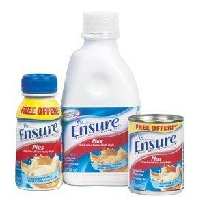 Ensure Plus Vanilla 57263 Case Of 24 8 Oz [Health And Beauty]