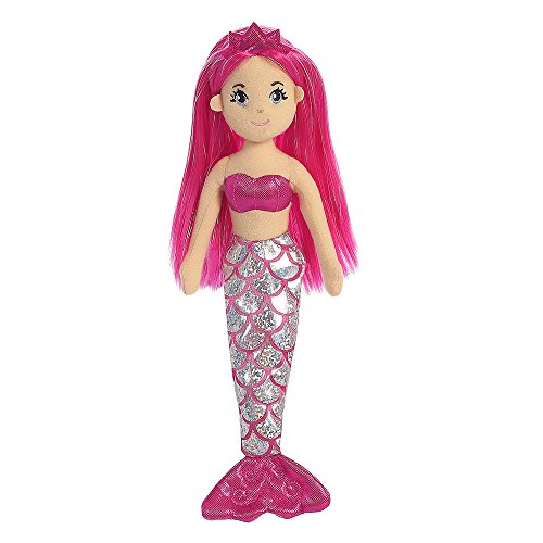 aurora-world-sea-shimmers-garnet-the-mermaid-plush-toy-medium-pink-peach