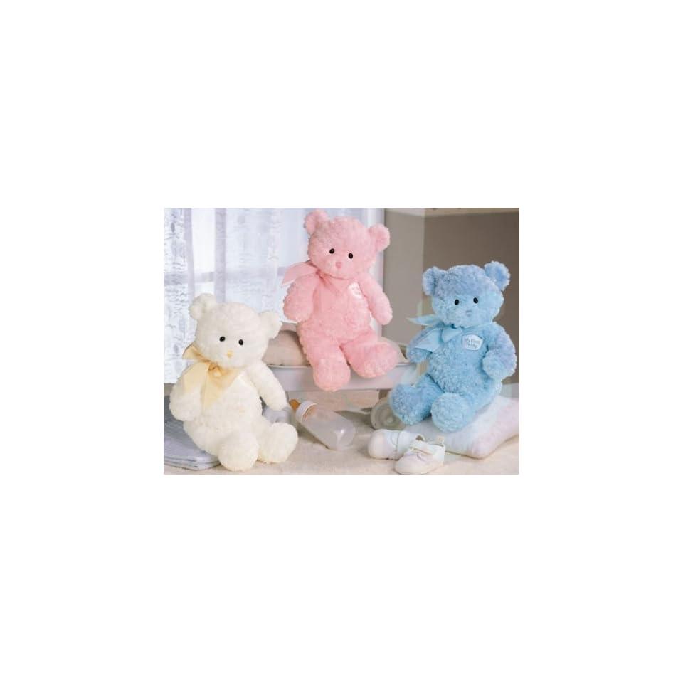 My First Teddy   White (small) 9 Baby Gund Teddy Bear 58616