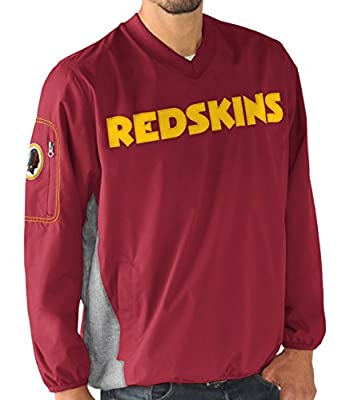 "Washington Redskins NFL G-III ""Gridiron"" Men's Pullover Embroidered Jacket"