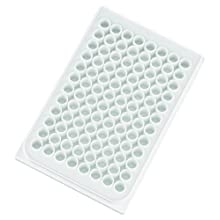Sterilin 539224-07 Polystyrene Sterile 96-Well Microtitration Plate Lid, microliter Volume, Ring (Case of 50)