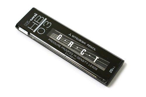 Uni Hi-Uni Hi-Density Pencil Lead - 0.3 Mm - Hb
