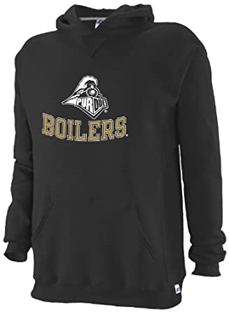 NCAA Purdue Boilermakers Youth Dri-Power Fleece Pullover Hood by Russell Athletic