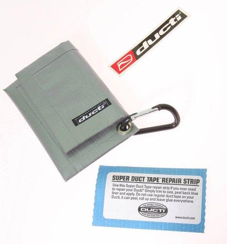 ducti-barhopper-porte-carte-en-ruban-adhesif-renforce-argente