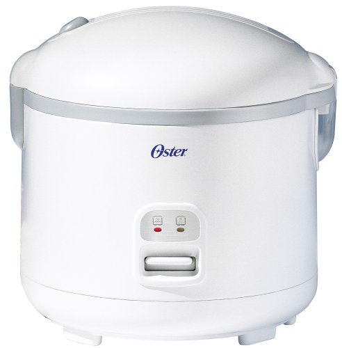 Oster 4715 Multi-Use 20-Cup (Cooked) Rice Cooker And Food Steamer, White
