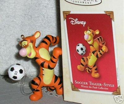 QXD5119 Soccer with Tigger Winnie the Pooh 2003 Hallmark Keepsake Ornament (Pooh Football compare prices)