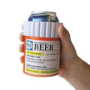 Big Mouth Toys Prescription / Pill Bottle Drink Kooler