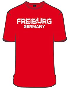 NYC Specials Germany Freiburg T-Shirt, red