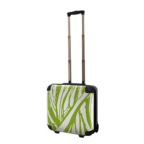 キャラート アートスーツケース ベーシック ソフィスティ(ヴェール プレーリー) ジッパー2輪 機内持込 CRB01-035I
