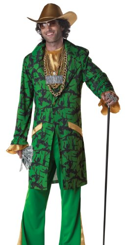 Mens Big Pimpin' Adult Halloween Costume