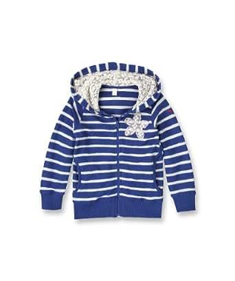ESPRIT Tops à capuche  À capuche Manches longues Fille - Bleu - Blau (441 DELFT BLUE) - FR : 4 ans (Taille fabricant : 104/110)